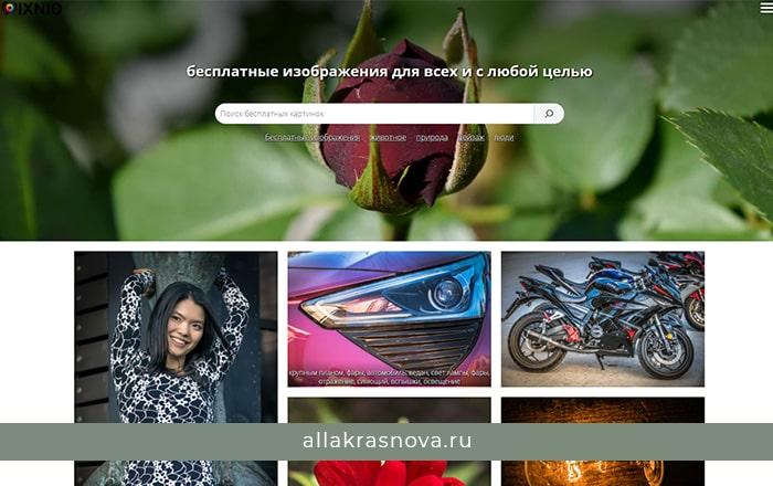 Pixnio — бесплатный фотосток с фотографиями высокого разрешения